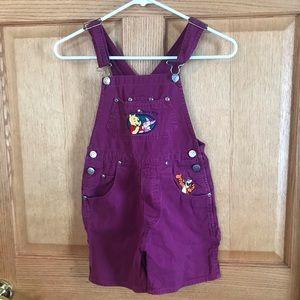 Disney overalls, Winnie the Pooh